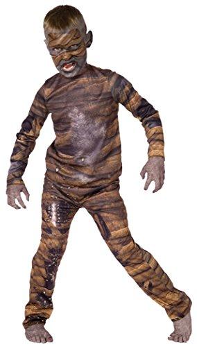 Official Costumes Palamon Mummy Child Costume, (Maleficent Costume Makeup Kids)