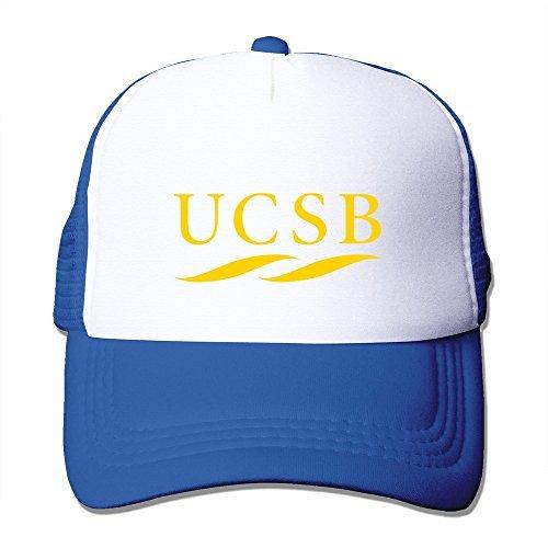 Jade Personalized Flat Billed University Of California Santa UCSB Travel Caps Hat RoyalBlue