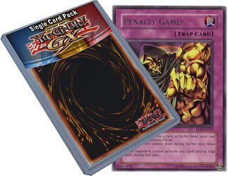 Flaming Eternity Single (Yu Gi Oh : FET-EN051 1st Edition Penalty Game! Rare Card - ( Flaming Eternity YuGiOh Single Card ) by Yu Gi Oh)