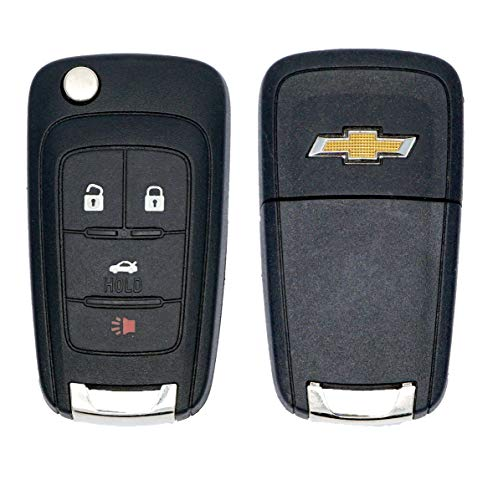 OEM 4 Button Remote For Chevrolet Cruze Camaro Equinox Sonic