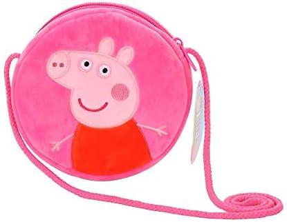 Peppa Pig Circle Round Coin Crossbody Purse