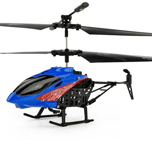 RC Quadcopter ,JX-807 RC 2CH Mini Helicopter Radio Remote Control Aircraft Micro By Dacawin (Blue)