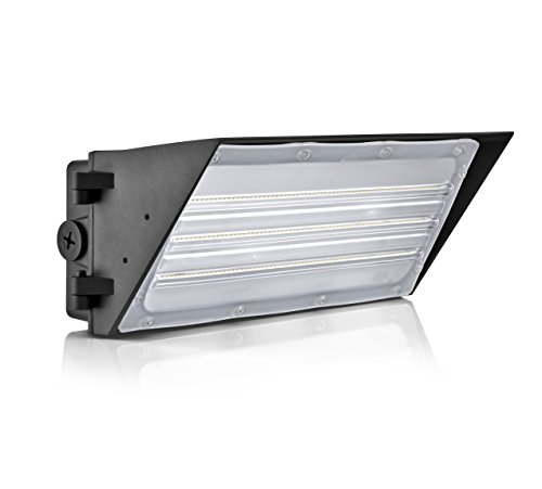 Hyperikon LED 90W Wall Pack Fixture, 630W HPS/HID Replacement, 5000K, 12,400 Lumens, Waterproof and Outdoor Rated, DLC 4.2 & UL Listed by Hyperikon