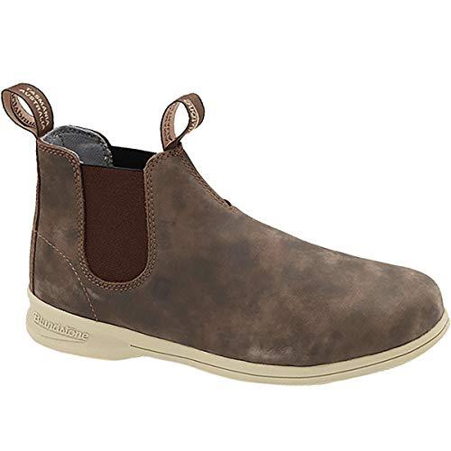 Blundstone Mens Active Series Boots, Rustic Brown, 10 M AU