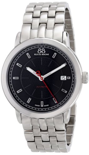 88-Rue-du-Rhone-Mens-87WA120032-Analog-Display-Swiss-Automatic-Silver-Watch
