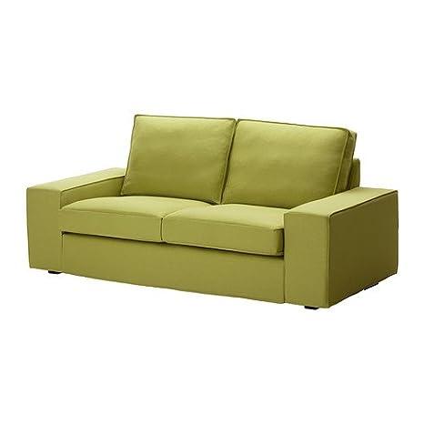 IKEA KIVIK - Cubierta sofá de dos plazas, Dansbo amarillo ...