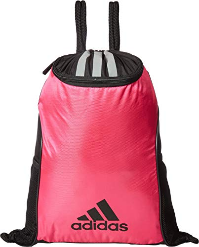 adidas Unisex Team Issue II Sackpack, Team Shock Pink, ONE SIZE