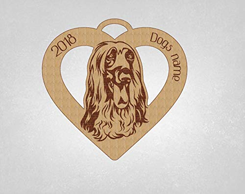 - Afghan Hound, Afghan Hound Ornament, Dog Ornament, Personalized Afghan ornament, Dog Gift