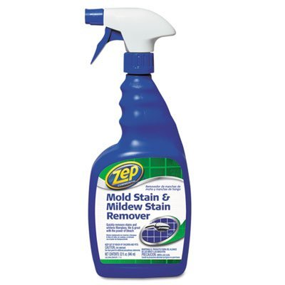 Mold Stain and Mildew Stain Remover, 32 oz Spray Bottle, Sold as 2 Each by Zep Commercial (Zep Stain Remover)