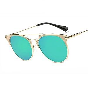 New Retro Cat Eye Sunglasses Women Designer Sun Glasses for Women Hot Sale Sun Oculos,10 golden pink