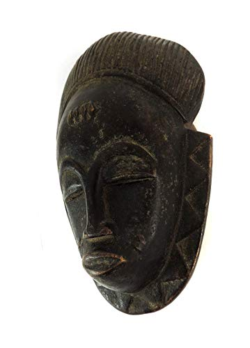 Mask Mblo Passport Ivory Coast African Art ()