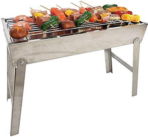 en Acier Inoxydable Portable Grill Pliant Barbecue Poêle Installation Gratuite BBQ Voiture Grill Mini Barbecue