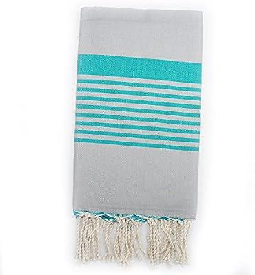 Sarong futa hammam de mano de la tela para cortina de ducha con toallas de la piscina del baño de playa 100% algodón natural que con una elegancia atemporal ...