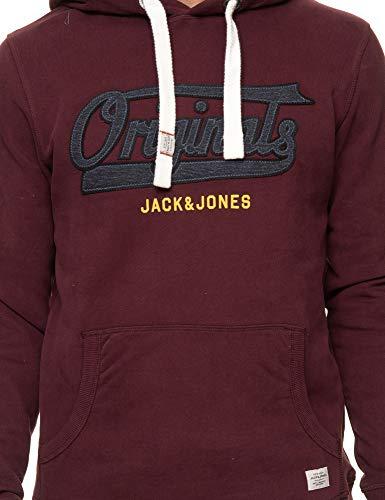 Bordeaux Jack amp; Jones amp; Sweat Jack RdU1Xq