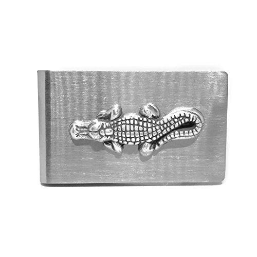 Alligator Money Clip - Cigar Cutters by Jim Gator Money Clip