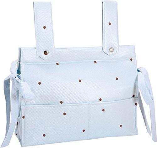 Happy Way Bolso para carrito bebe y silla de paseo Bodoque celeste