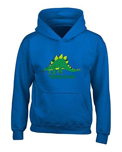 Dinosaur Foodie Vegetarian Lifestyle Cool Gift - Adult Hoodie Xl (Adult Dinosaur Sweater)