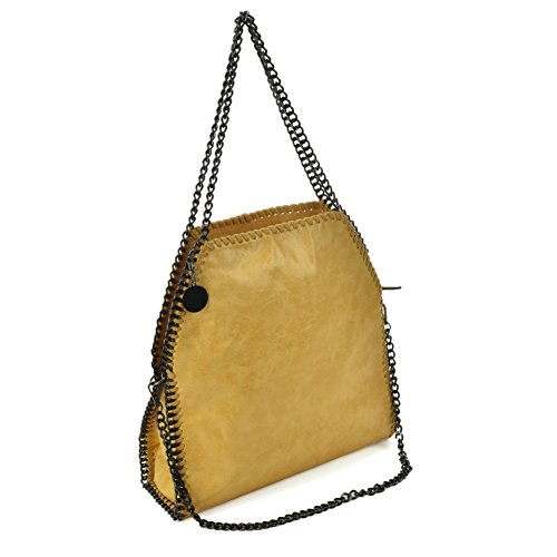 SALLY Long YOUNG Shoulder Yellow Women Handbag Chain With Handles Hobo Bag Fashion Handbag wXqXxTgUr