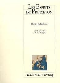 Les Esprits de Princeton par Daniel Kehlmann