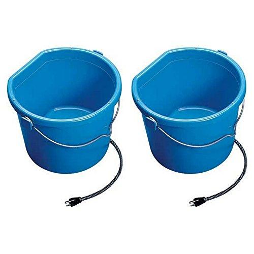 API Heated Flat Back Bucket (5 Gallon (2 pack)) (Flat Bucket Heated)