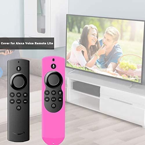 Cover for Fire TV Remote Lite, Firestick Cover Compatible with Amazon Fire Stick Remote 2020 Release, Firestickremote TV Remote Case Cove Rose