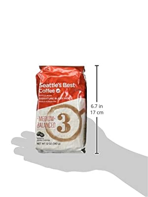 Seattle's Best Level 3, Whole Bean, 12-Ounce Bags (Pack of 3) by Seattle's Best Coffee