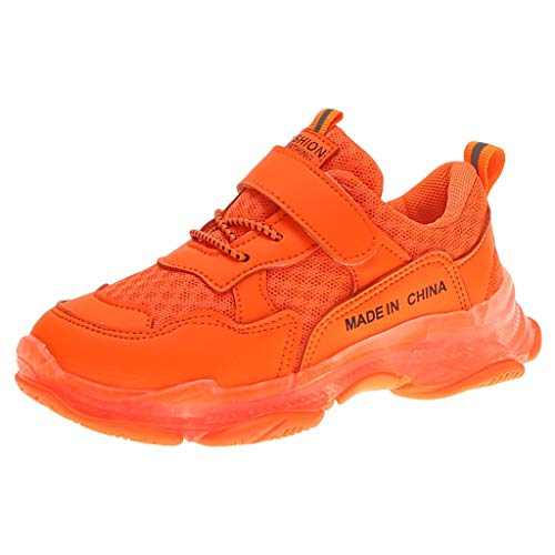Boys Girls Sneakers,Londony Kids Breathable LED Light Up