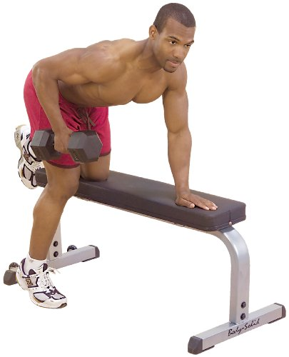 Upholstered Flat Bench by Body-Solid