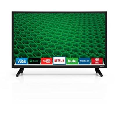 "VIZIO D24-D1 24"" 1080p 60Hz LED Smart HDTV, Dolby Digital Plus, DTS Studio Sound, Built in Digital Tuner/Built in WiFi"