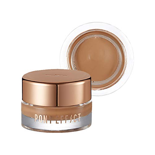 Long Wearing Cream Shadow - PONY EFFECT Unlimited Cream Shadow #Heartwarming 6g, 1.6 Ounces, Creamy formula, Matte finish, Intensely pigmented, Long-lasting shadow, Yellow Brown color, Matte begie