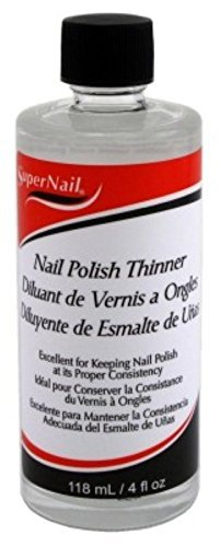 Price comparison product image Super Nail - Polish Thinner 4oz by Super Nail