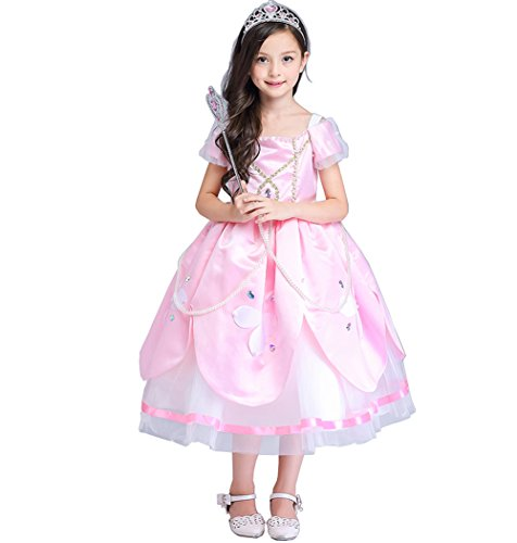 Fancy 1920's Dress Costume Bathing (Fanryn Little Girl's Princess Party Costume children formal skirt Costumes Fancy Dress)