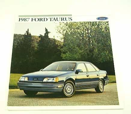 - 1987 87 Ford TAURUS BROCHURE L GL LX MT-5