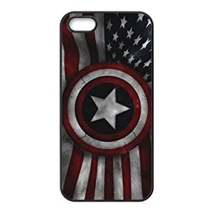 Captain America's Shield Brand New And Custom Hard Case Cover Protector For Iphone 5s
