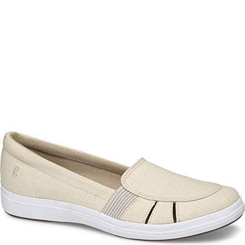 - Grasshoppers Janis Fisherman Women 7.5 Tan Linen