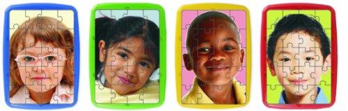 Miniland Children of the World Plastic Puzzles - Set of 4 ()