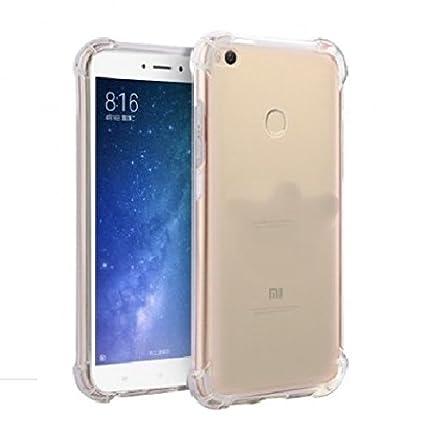 sale retailer 0f7e1 4de8f Parallel Universe Xiaomi Mi Max 2 Ultra Clear Soft Shock Absorbing TPU Back  Cover Case,Transparent