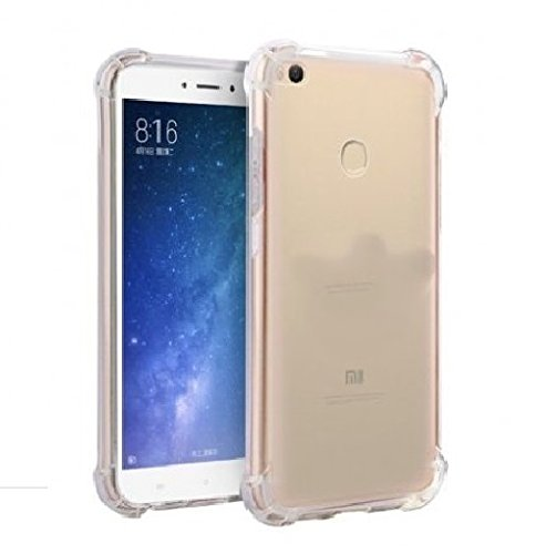 sale retailer a930f 11f48 Parallel Universe Xiaomi Mi Max 2 Ultra Clear Soft Shock Absorbing TPU Back  Cover Case,Transparent