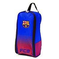 FC Barcelona Official Fade Football Crest Shoe/Boot Bag (One Size) (Blue/Red)