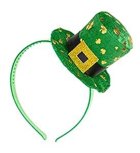 WIDMANN Diadema de mini sombrero San Patricio adulto - Única