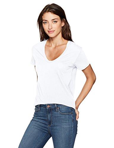 Femme shirt T True White Goldschmied Adriano Ag vzfwfxSqO