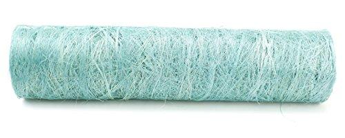 Kel-Toy Abaca Fabric Roll, 19-Inch by 10-Yard, Mint Green
