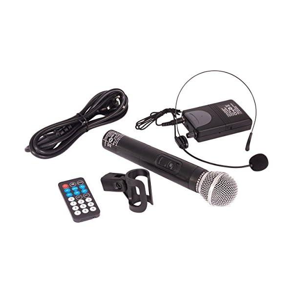 Ibiza PORT12VHF-BT Sonorisation portable 12'' USB/SD/AUX/MP3/Bluetooth Noir 5
