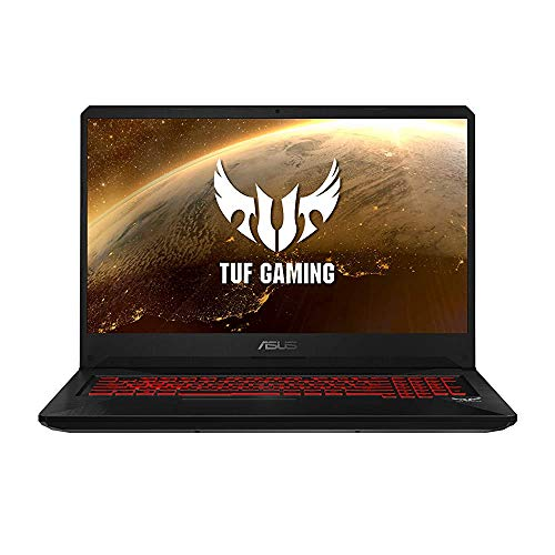 (Renewed) ASUS TUF Gaming FX705DY-AU072T 17.3-inch FHD Laptop (AMD Ryzen 5-3550H/8GB RAM/512 SSD/Windows 10/Radeon RX 560X 4GB Graphics/2.70 Kg), Red Matter