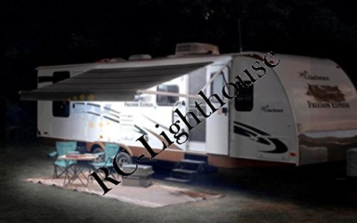 Recreational Vehicle Awning Colored Remote
