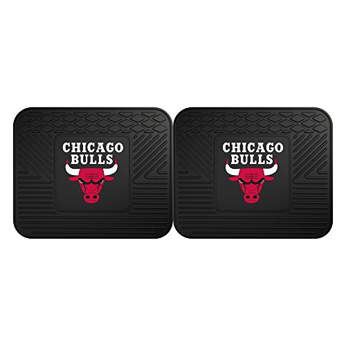 Fanmats 12366 NBA - Chicago Bulls Utility Mat - 2 Piece by Fanmats