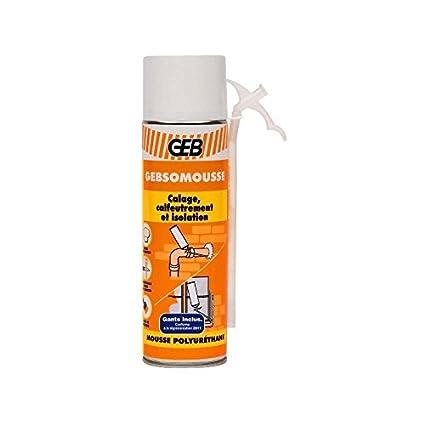 GEB 60757 - 813266 Gebsomousse poliuretano momento de espuma / calafateo / aislamiento aerosol 500 ml