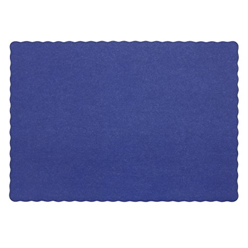 Royal Blue Disposable Placemat 9.25