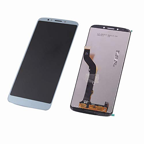 TheCoolCube Replacement for LCD Display Touch Screen Digitizer New Assembly Compatible with Moto Motorola E5 Plus XT1924 5.99