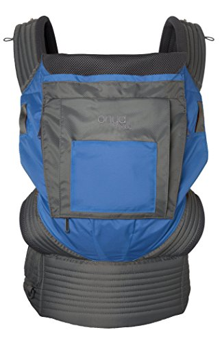 Onya Baby Outback Baby Carrier – Tahoe Blue/Slate Grey Review